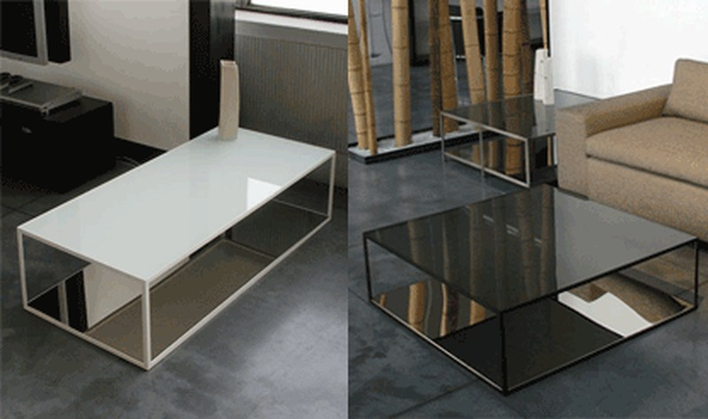 Table basse Double Skin