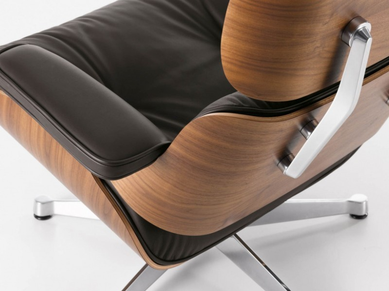 Lounge Chair & Ottoman de Eames version XL