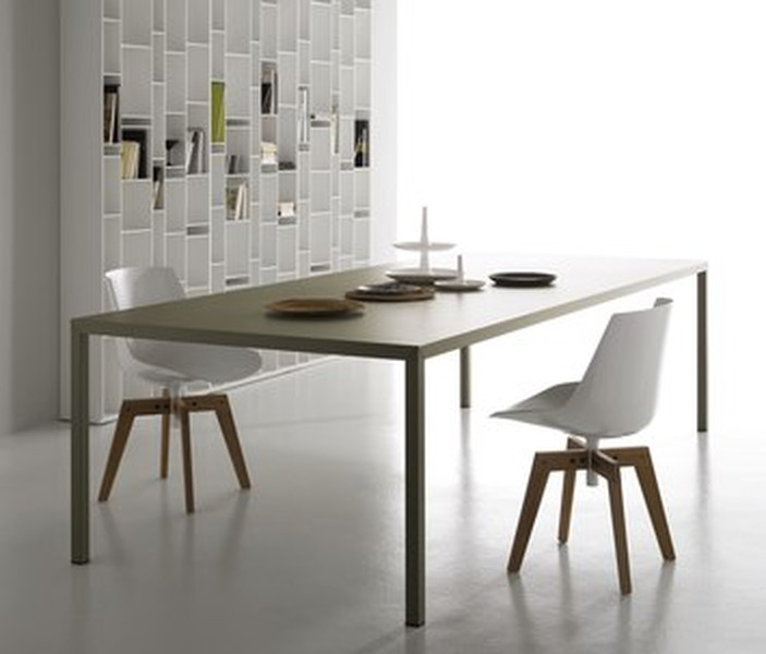 table Steel de MDF ITALIA