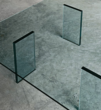table basse Glass table