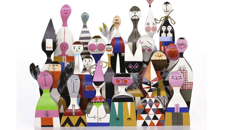 Wooden Dolls Vitra Issima