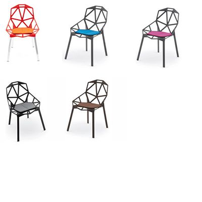 Coussins pour chaise Chair One chez issima