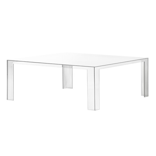 table basse invisible de kartell