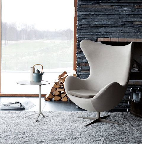 fauteuil egg de jacobsen catalogue conseil am nagement et mobilier contemporain marseille issima. Black Bedroom Furniture Sets. Home Design Ideas