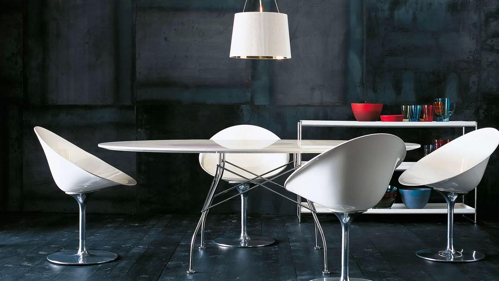 table Glossy chez issima