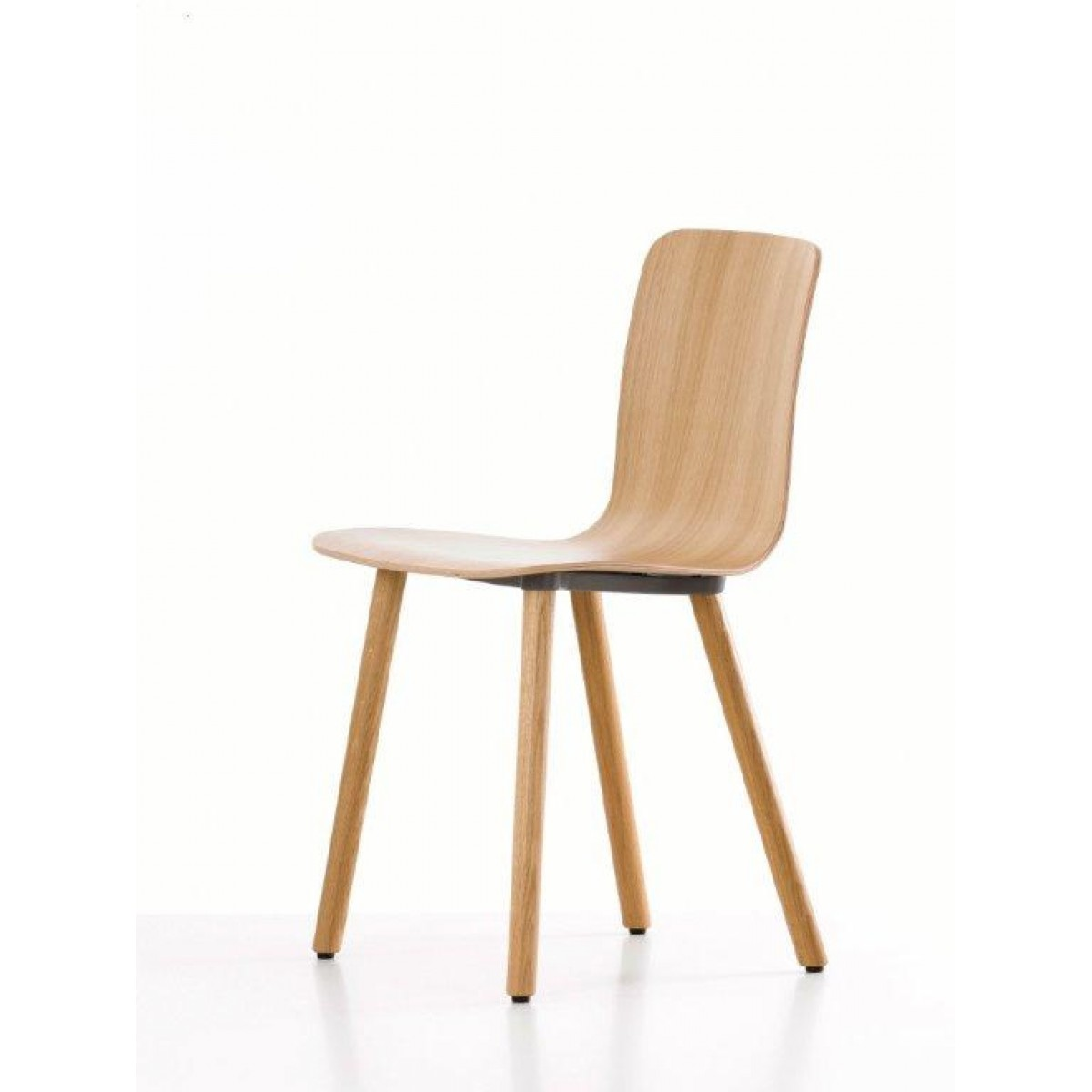 Chaise Hal Ply Wood de vitra